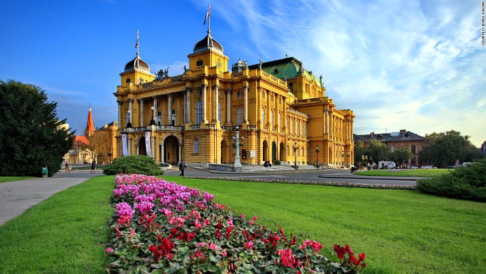 Capital City Of Croatia