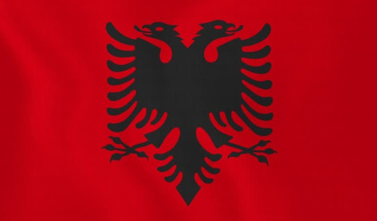 albanian flag coloring page - national flag of albania albania flag history and meaning