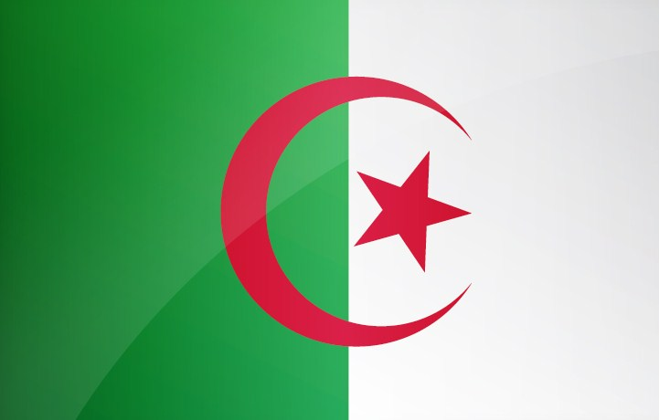 National Flag of Algeria