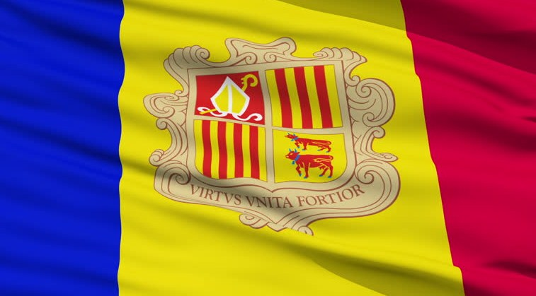 National Flag of Andorra