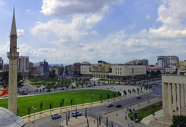 The Capital City of Albania