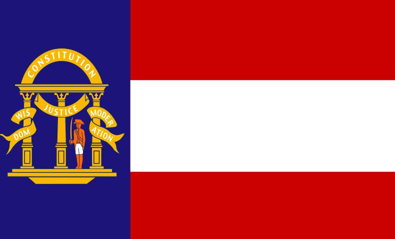Georgia National Flag
