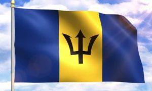 National Flag of Barbados