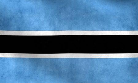 National Flag of Botswana