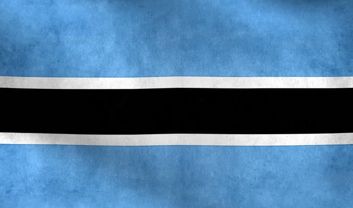National Flag of Botswana