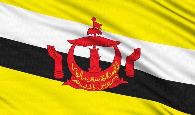 National Flag of Brunei