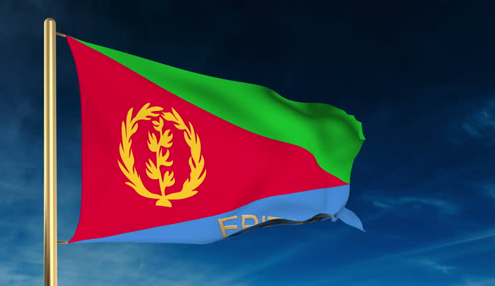 National Flag of Eritrea Pictures