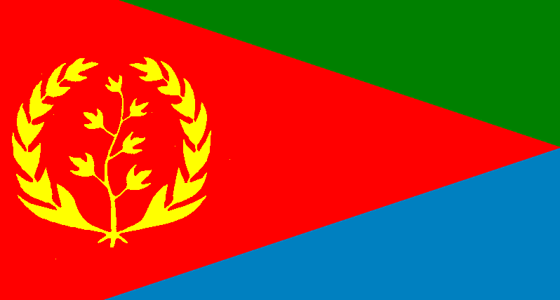 National Flag of Eritrea