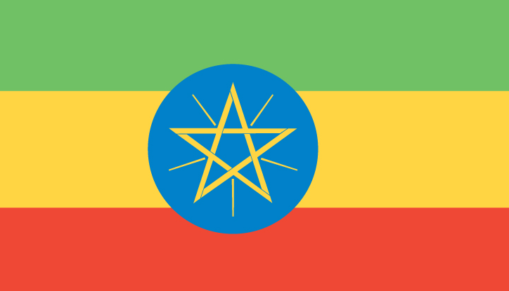 National Flag of Ethiopia Pics