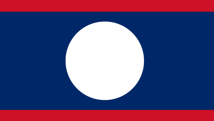 National Flag of Laos Pics