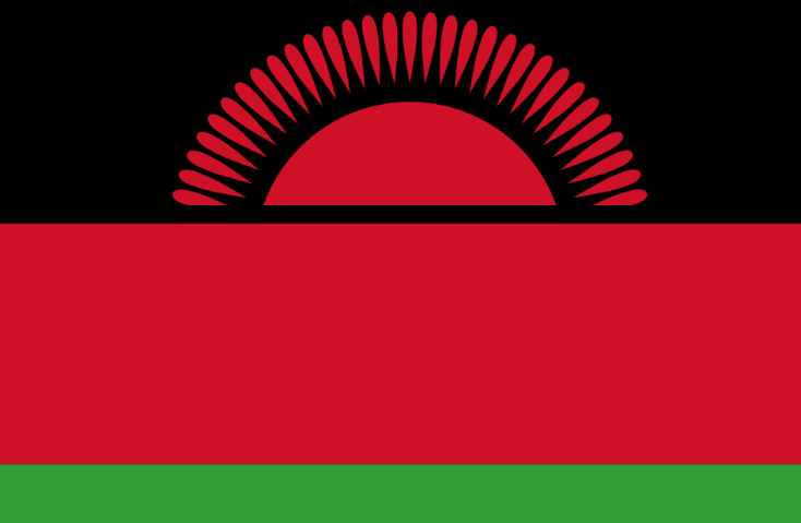 National Flag of Malawi