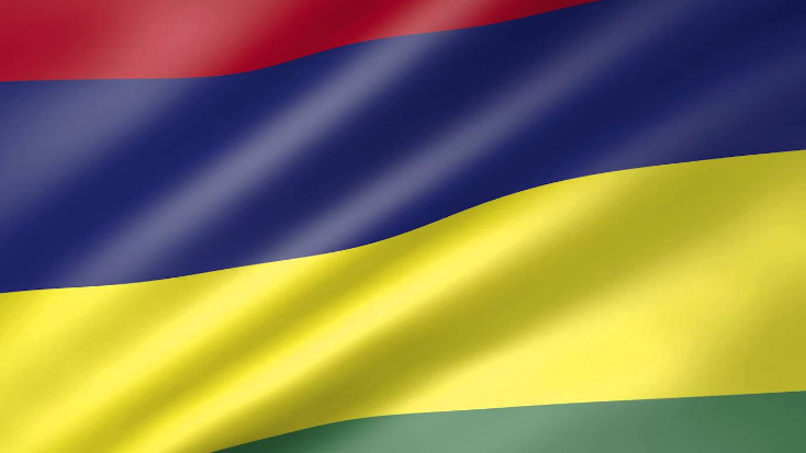 National Flag of Mauritius Pictures