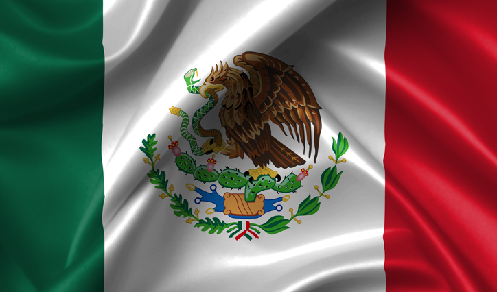 National Flag of Mexico Pics