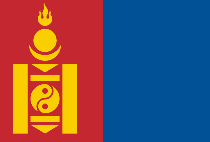 National Flag of Mongolia Pics