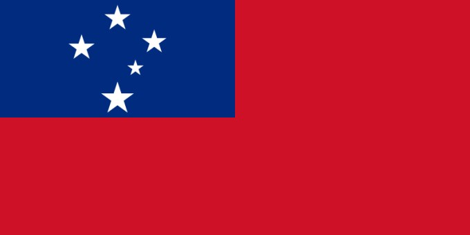 National Flag of Samoa