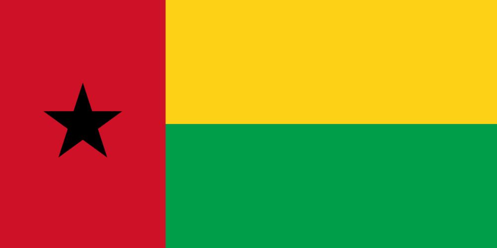 National flag of Guinea-Bissau