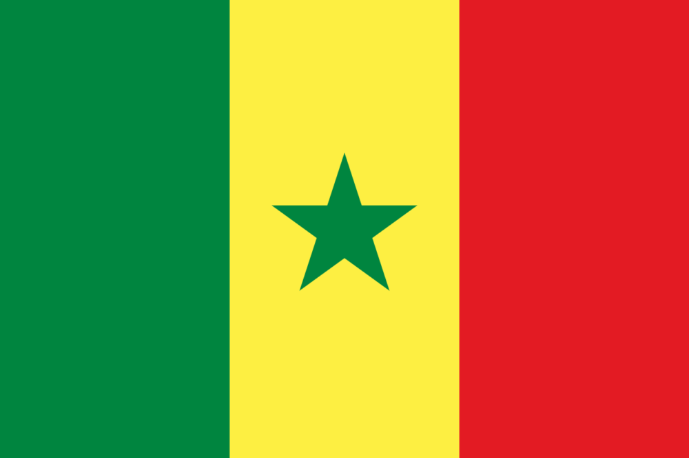 National flag of Senegal