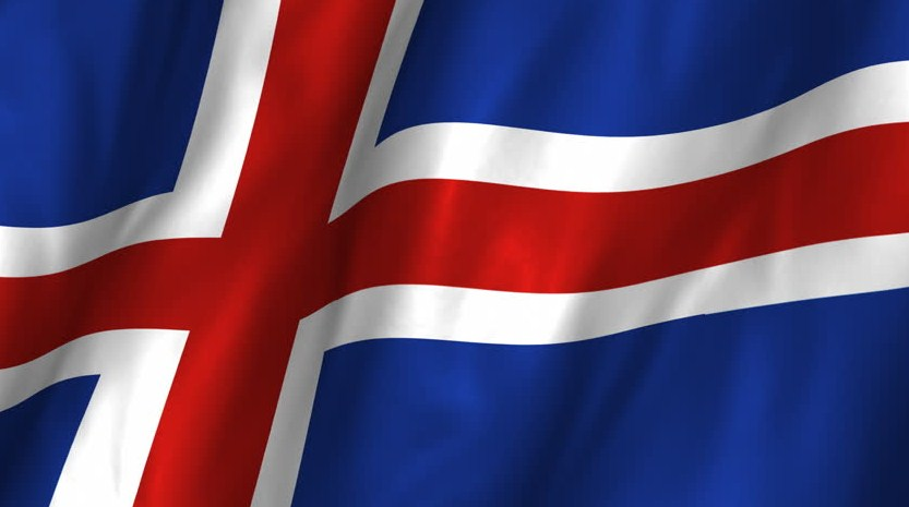 national flag of Iceland