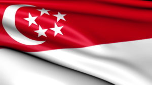 national flag of Singapore