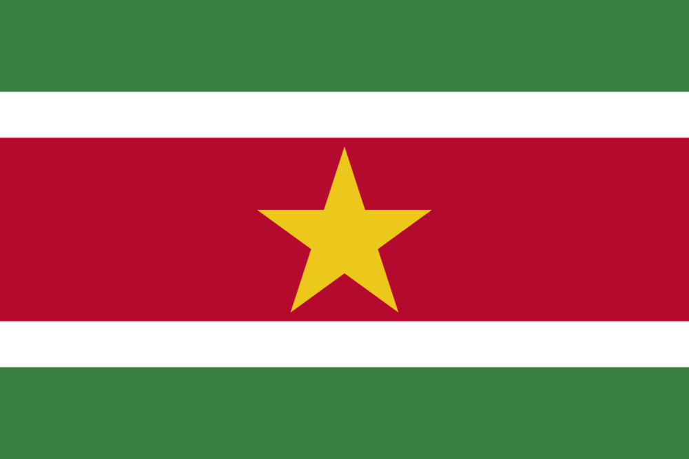 National flag of suriname suriname flag meaningpicture and history buycottarizona