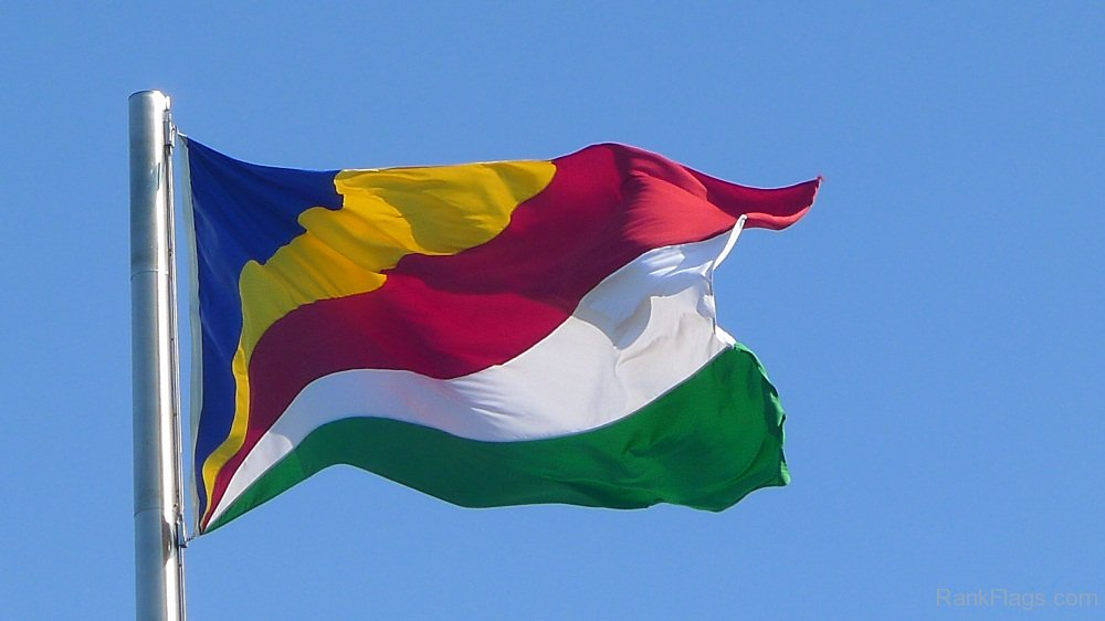 national flag of the Seychelles