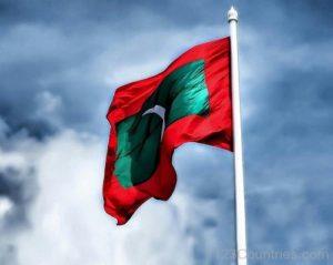 Maldives Flag Pictures