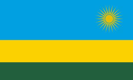 National Flag of Rwanda