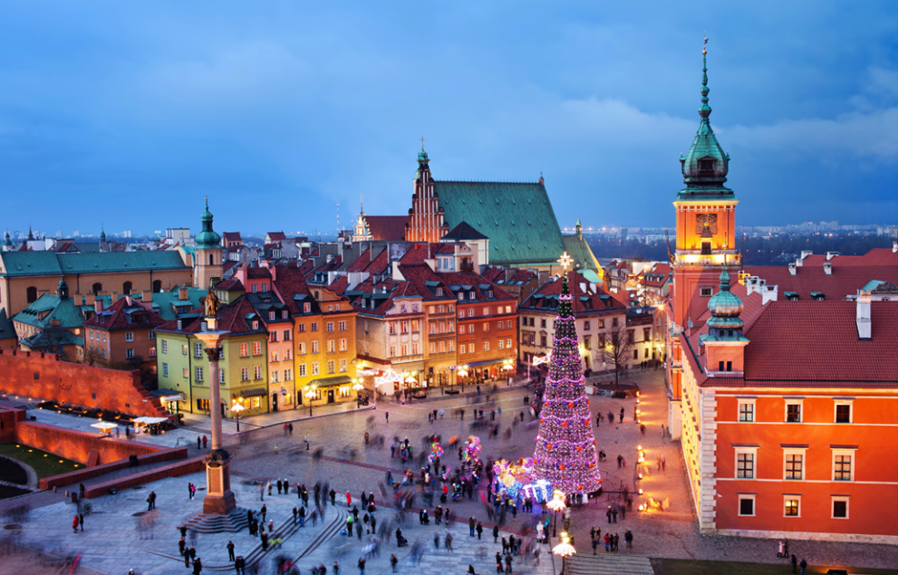 Warsaw Capital City of Poland