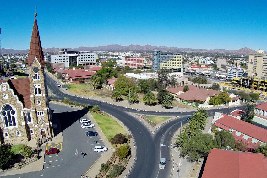 Windhoek Capital City of Namibia