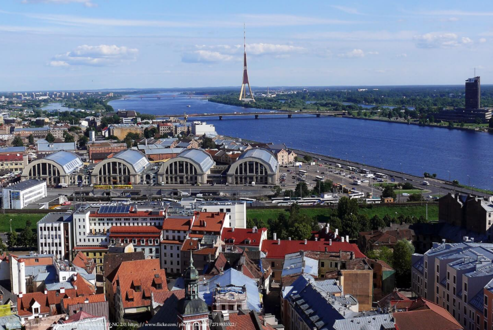Riga Capital City Of Latvia
