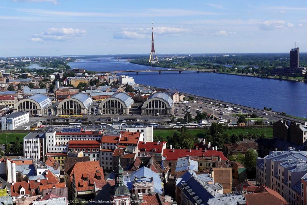 Riga Capital City Of Latvia