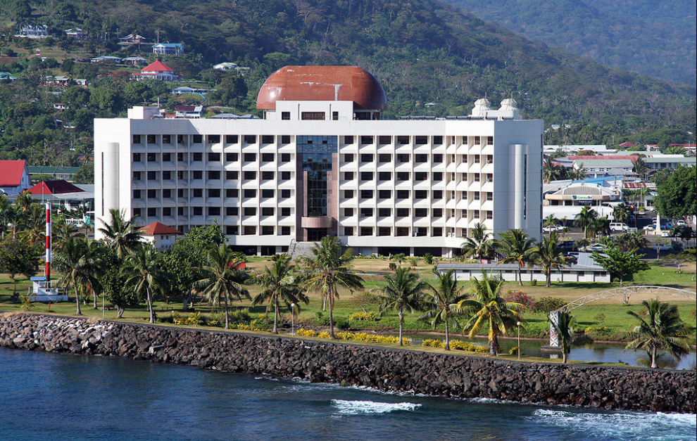 Apia capital city of Samoa