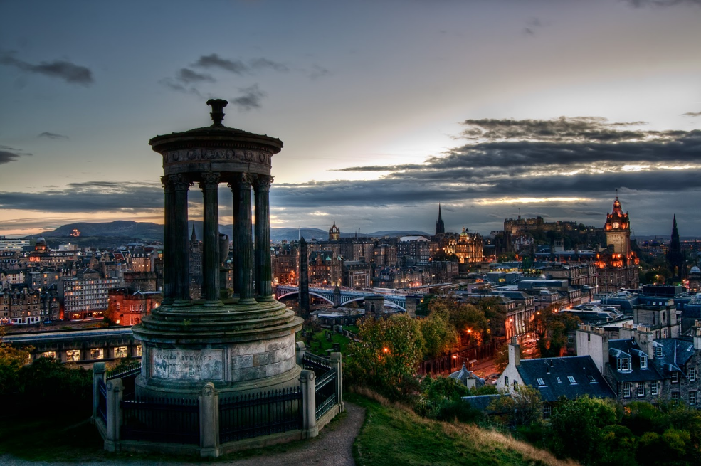 Edinburgh capital city of scotland