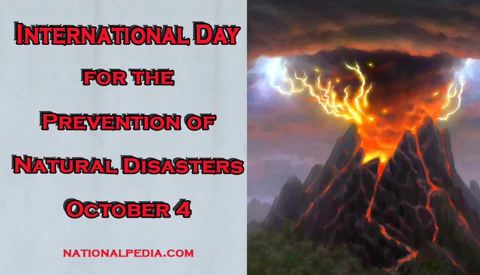 International Day For The Prevention Of Natural Disasters
