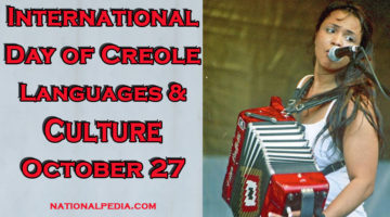 International Day of Creole Languages and Culture October 28