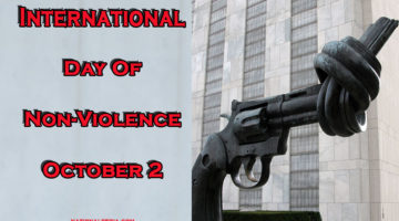 International Day of Non-Violence October 2