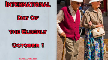 International Day of the Elderly October 1