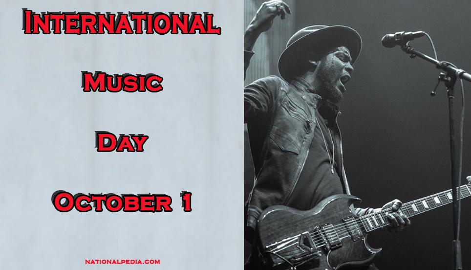 International Music Day October 1