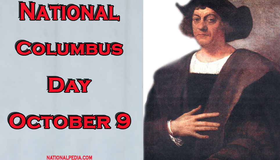 National Columbus Day October 9