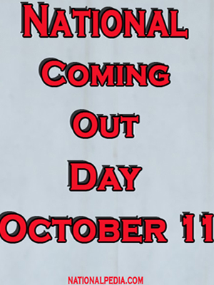 National Coming Out Day October 11
