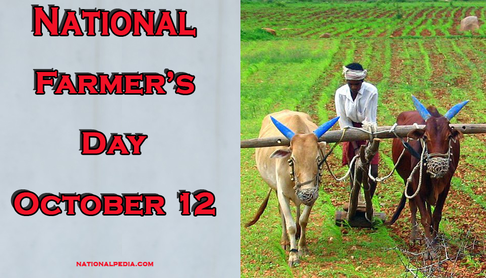 National Farmer's Day October 12
