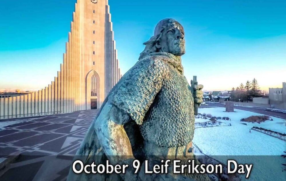 National Leif Erickson Day October 9
