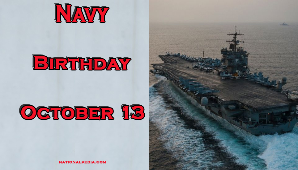 Navy Birthday October 13