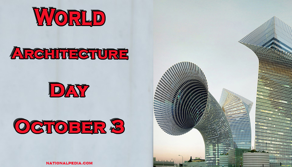 World Architecture Day October 3