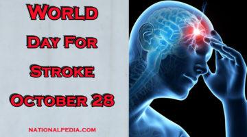 World Day for Stroke October 29
