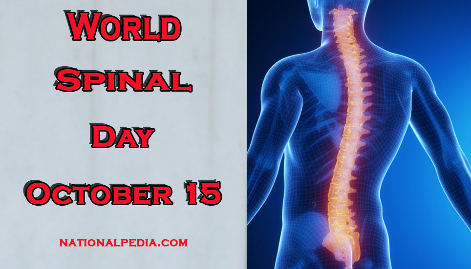 World Spinal Day October 15