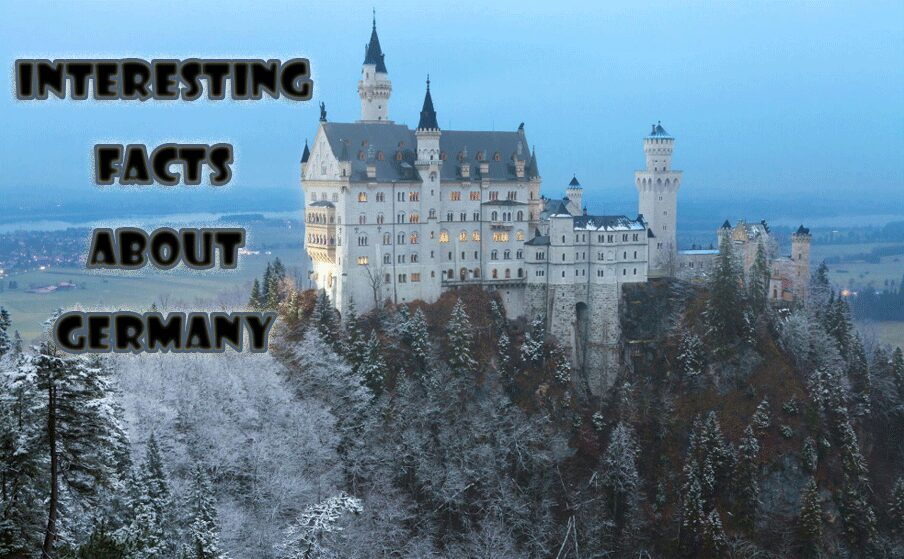 Interesting facts about Germany