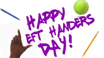 International Left-Handers Day August 13